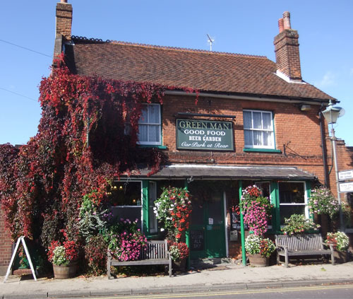 The Green Man, Sandridge