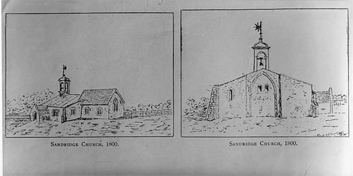 Sandridge Church 1800