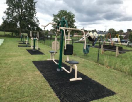 Outdoor exercise equipment